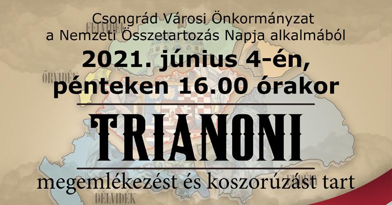 trianonfejlec
